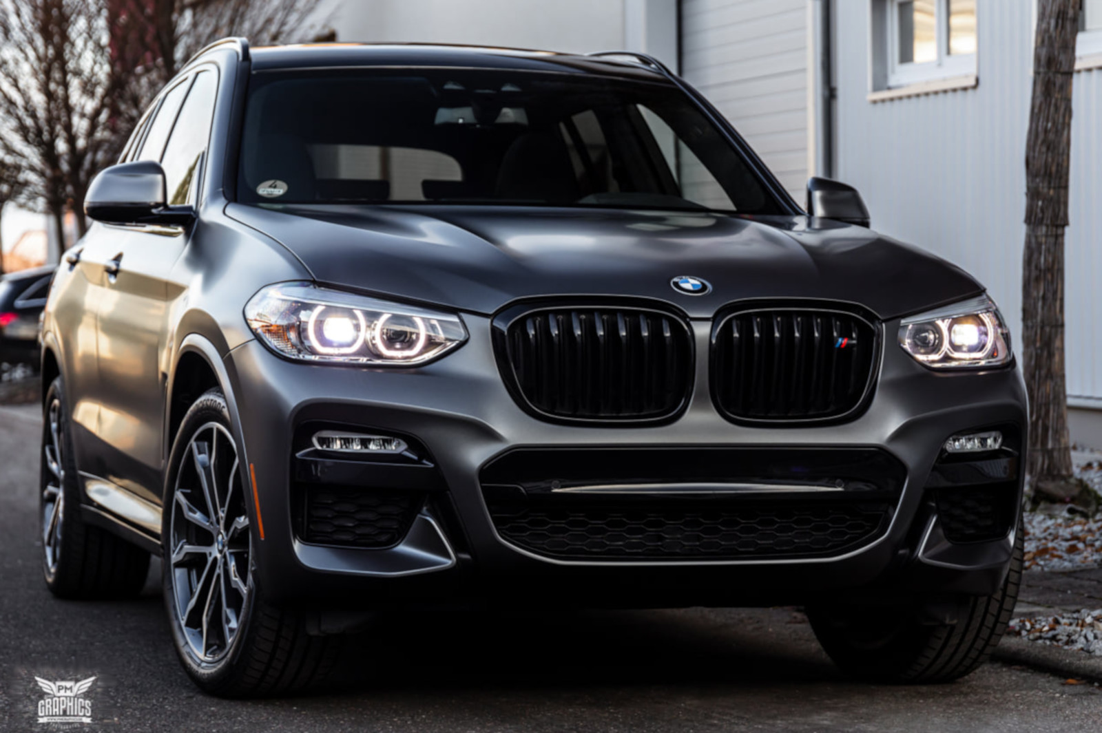 Seidenmatt Statt Metallic Bmw X3 G01 In Satin Pearl Grey