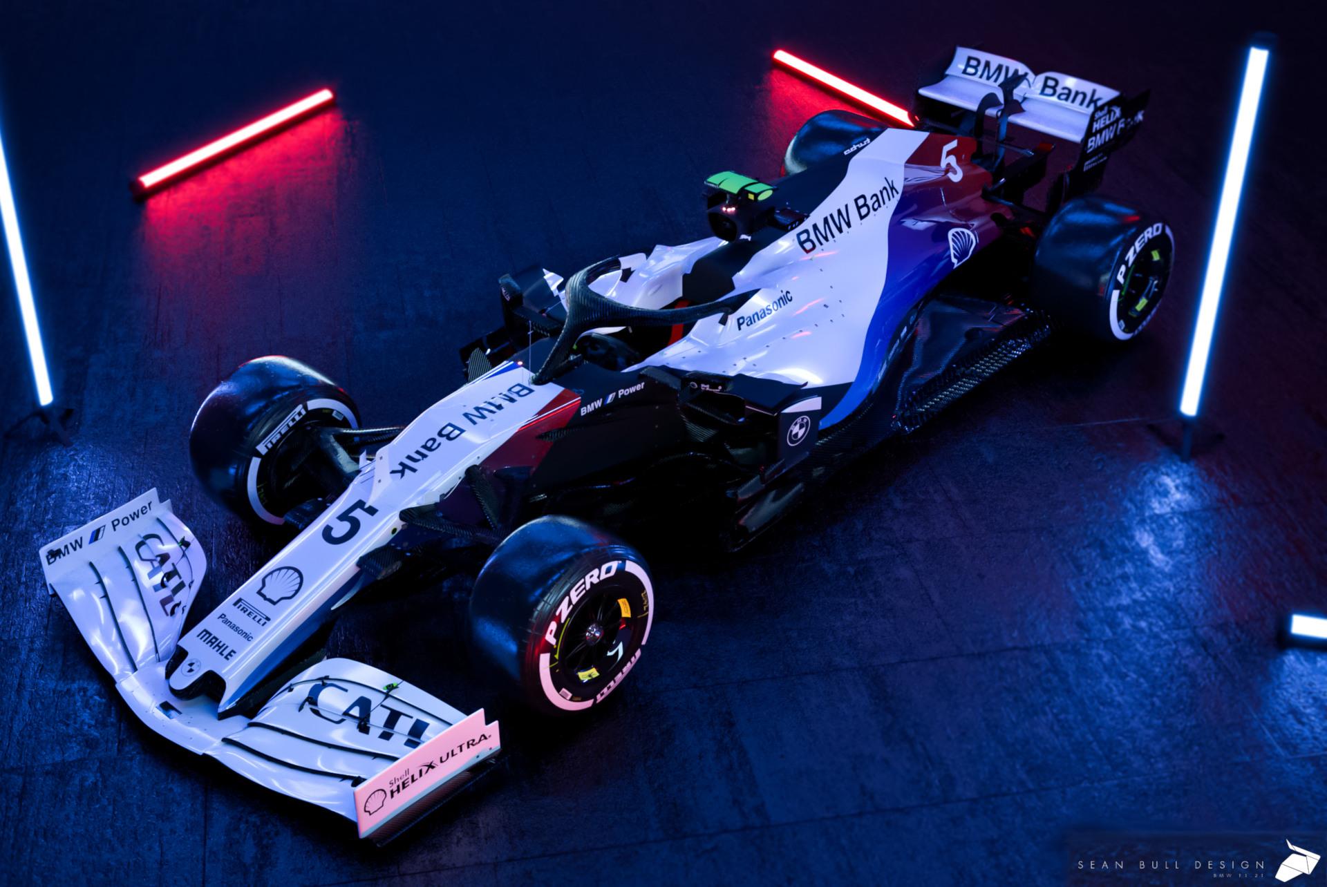 Bmw In Der Formel 1 2021 Design Entwürfe Zum Träumen