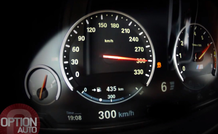 30-Jahre-BMW-M5-Tacho-Video-0-300-kmh-600-PS-F10-LCI