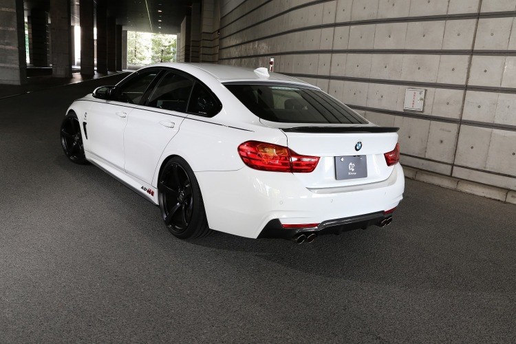 Japan tuning 3d design bmw 4er gran coup f36 mit m paket for Bmw 4er gran coupe m paket