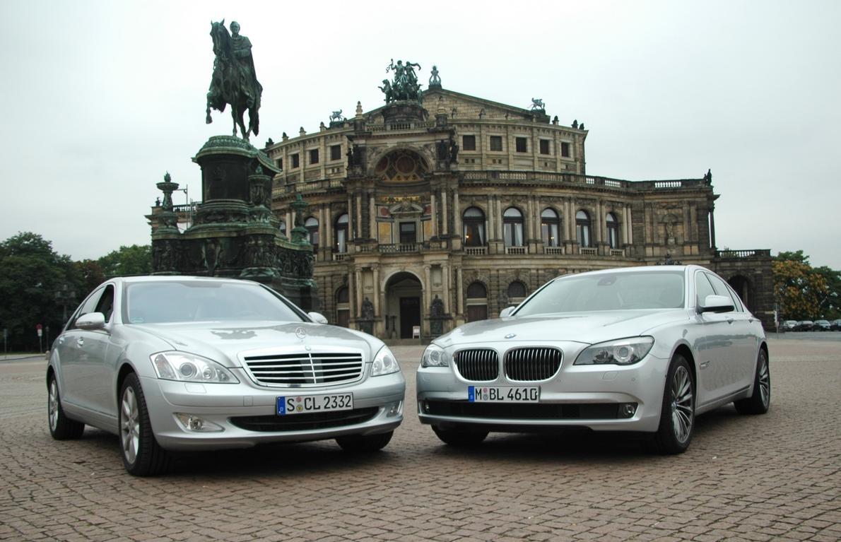 Bmw 7er F01 Im Ersten Vergleich Mit Der Mercedes S Klasse