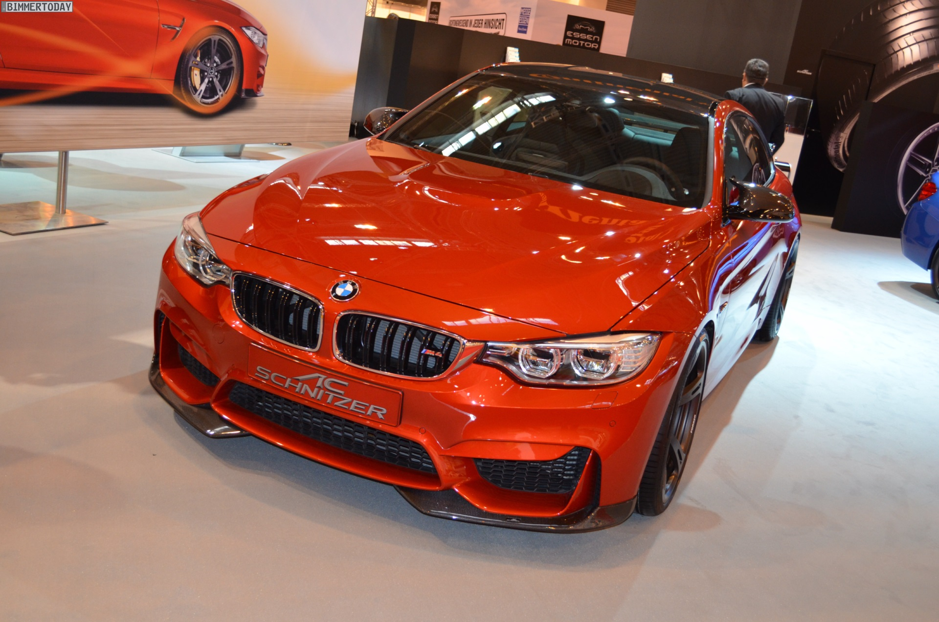 Ac Schnitzer Bmw M4 Tuning F82 In Sakhir Orange Zur Ems