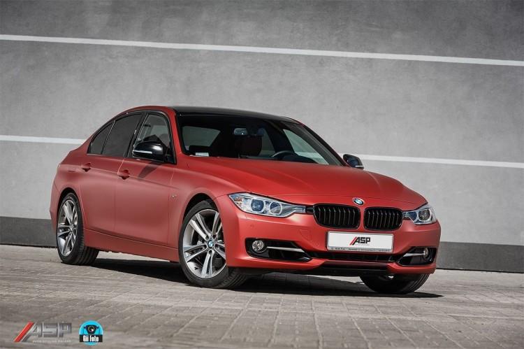 ASP-BMW-3er-F30-Folierung-Frozen-Red-Rot-Matt-Aluminium-Optik-12