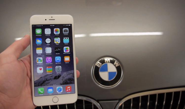 Apple-iPhone-6-Plus-bend-test-BMW-5er-Auto-gegen-iPhone6