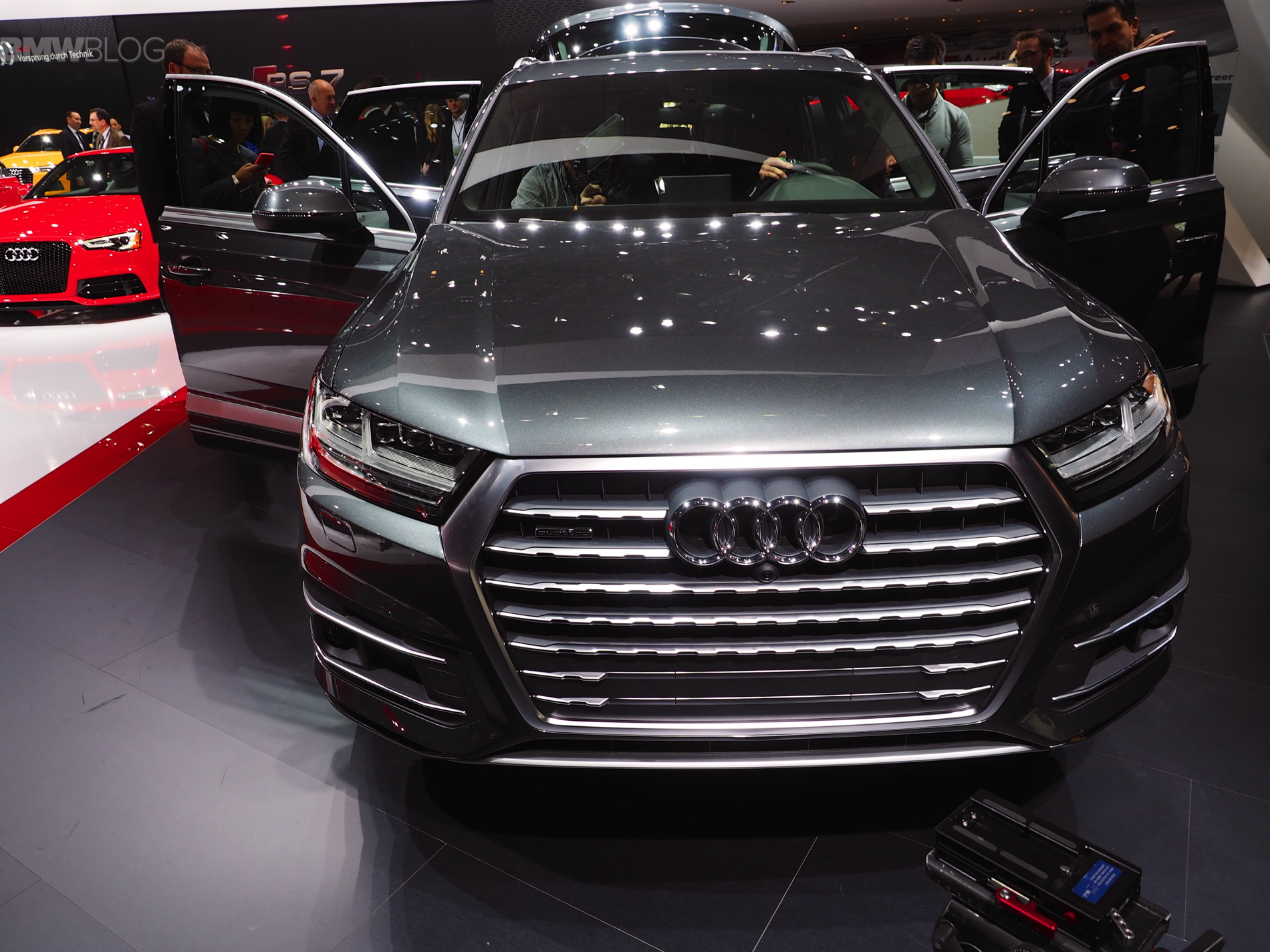 Naias Detroit Audi Q7 2015 Feiert Weltpremiere In Den Usa
