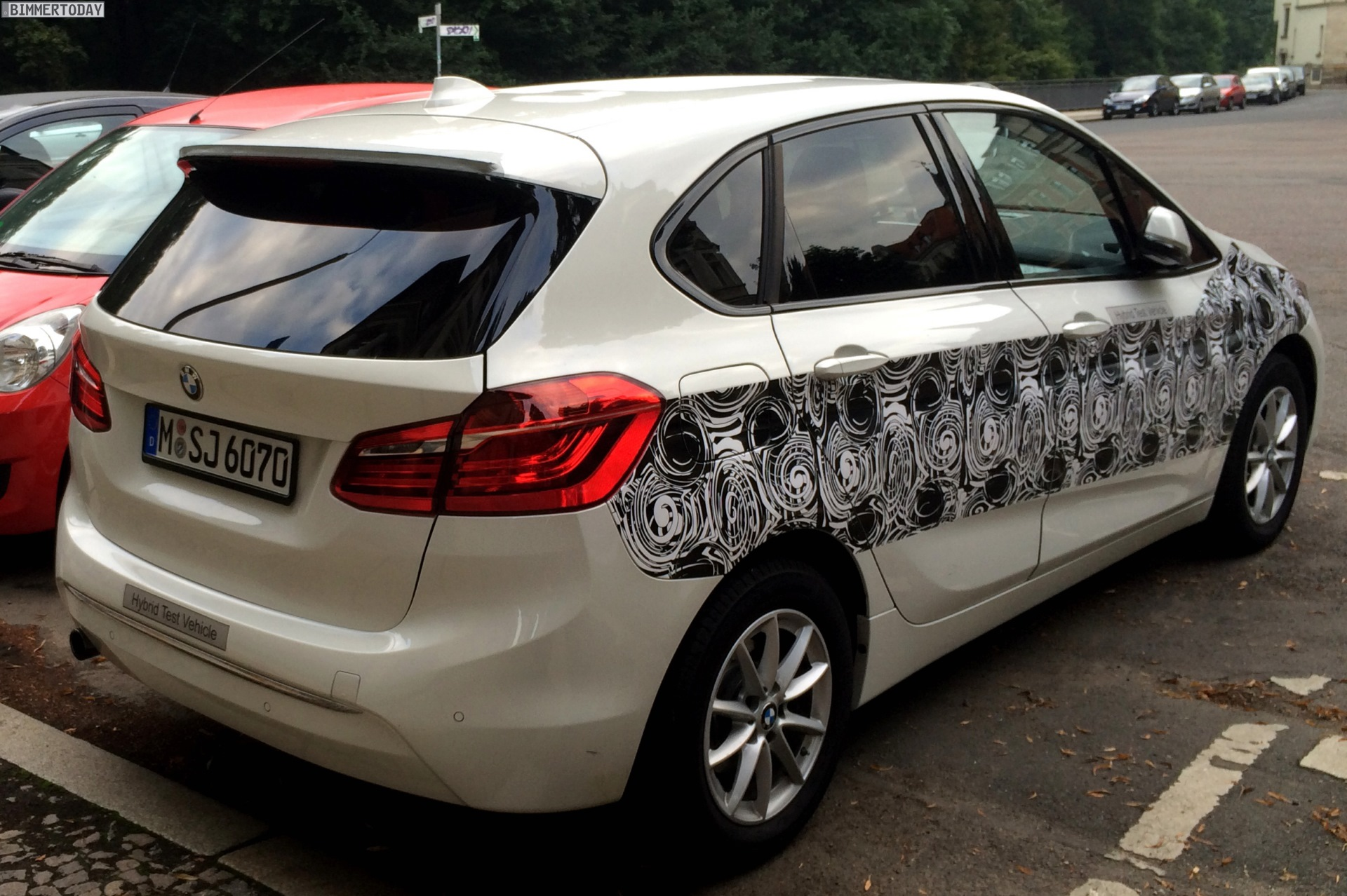 Bmw 2er Active Tourer Erlk 246 Nig Mit Plug In Hybrid Antrieb