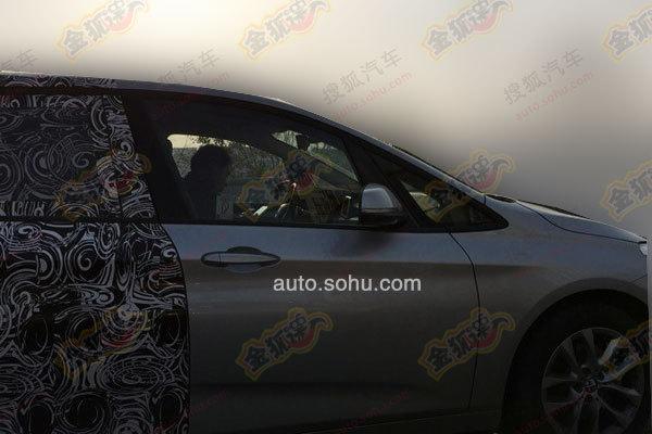 BMW-2er-Gran-Tourer-2015-Siebensitzer-Van-F46-Fotos-China-Erlkoenig-02