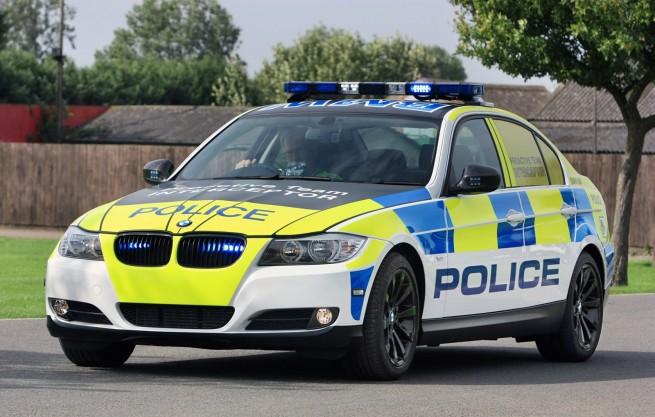 BMW-330d-E90-LCI-UK-Polizei