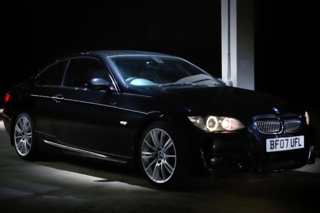 BMW-3er-E92-Gebrauchtwagen-Coupe-Werbung