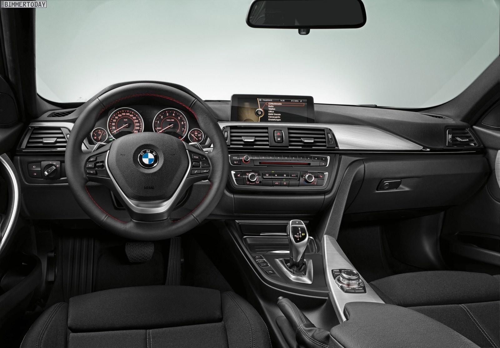 Das Interieur des BMW 3er F30: Bilder und Infos zu den drei Lines
