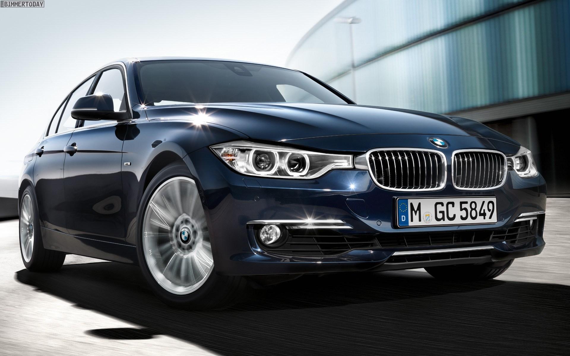 BMW 3er F30: Offizielle Wallpaper zur Mittelklasse aus München