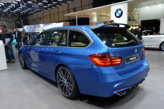 genf 2013 bmw 3er touring f31 mit zubeh r von bmw m. Black Bedroom Furniture Sets. Home Design Ideas