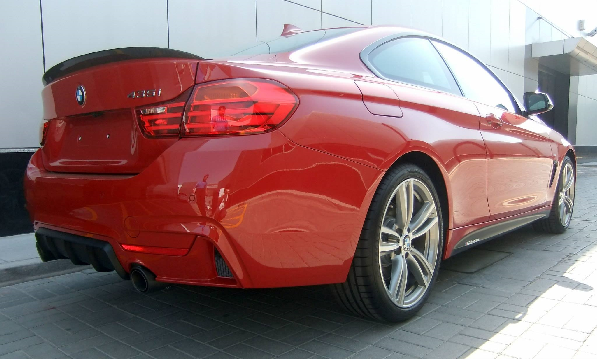 Bmw 4er M Performance Zubeh 246 R An 435i Coup 233 F32 In Melbourne Rot