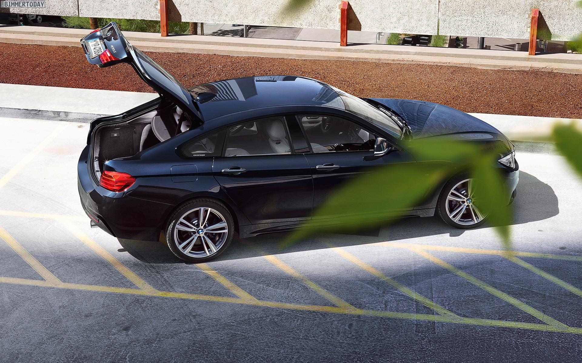 Bmw 4er gran coup wallpaper mit 435i m sportpaket in for Bmw 4er gran coupe m paket