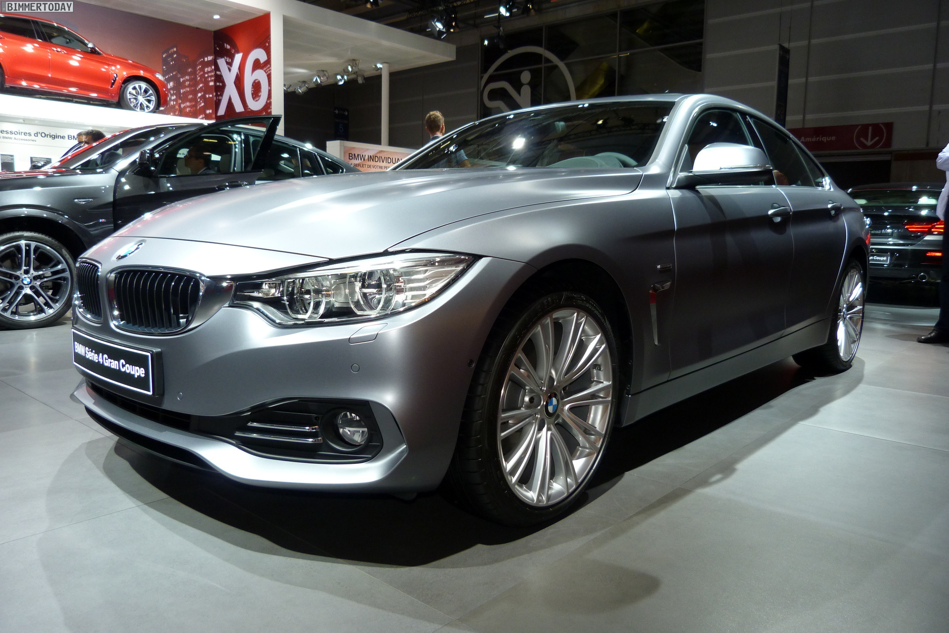 Bmw 4er Gran Coup 233 Frozen Cashmere Silver In Paris 2014