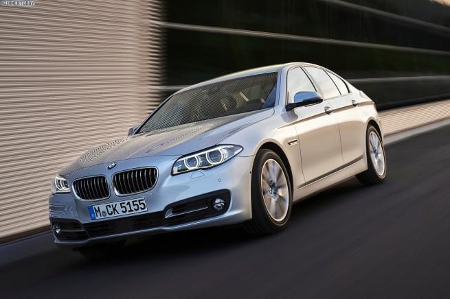 BMW 518d Limousine, Glacier Silber Metallic, 105/143 kW/PS