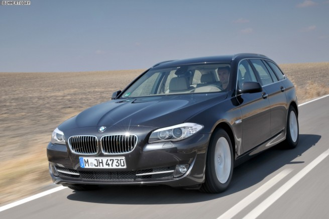 BMW 5 Series New Engines