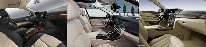 BMW-5er-Touring-F11-Audi-A6-Avant-Mercedes-E-Klasse-T-Modell-Interieur2