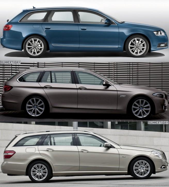 BMW-5er-Touring-F11-Audi-A6-Avant-Mercedes-E-Klasse-T-Modell-Seite