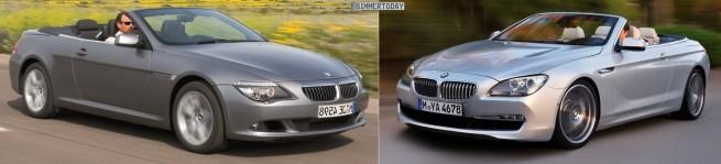 BMW-6er-Cabrio-E64-F12-Vergleich-Front-schraeg