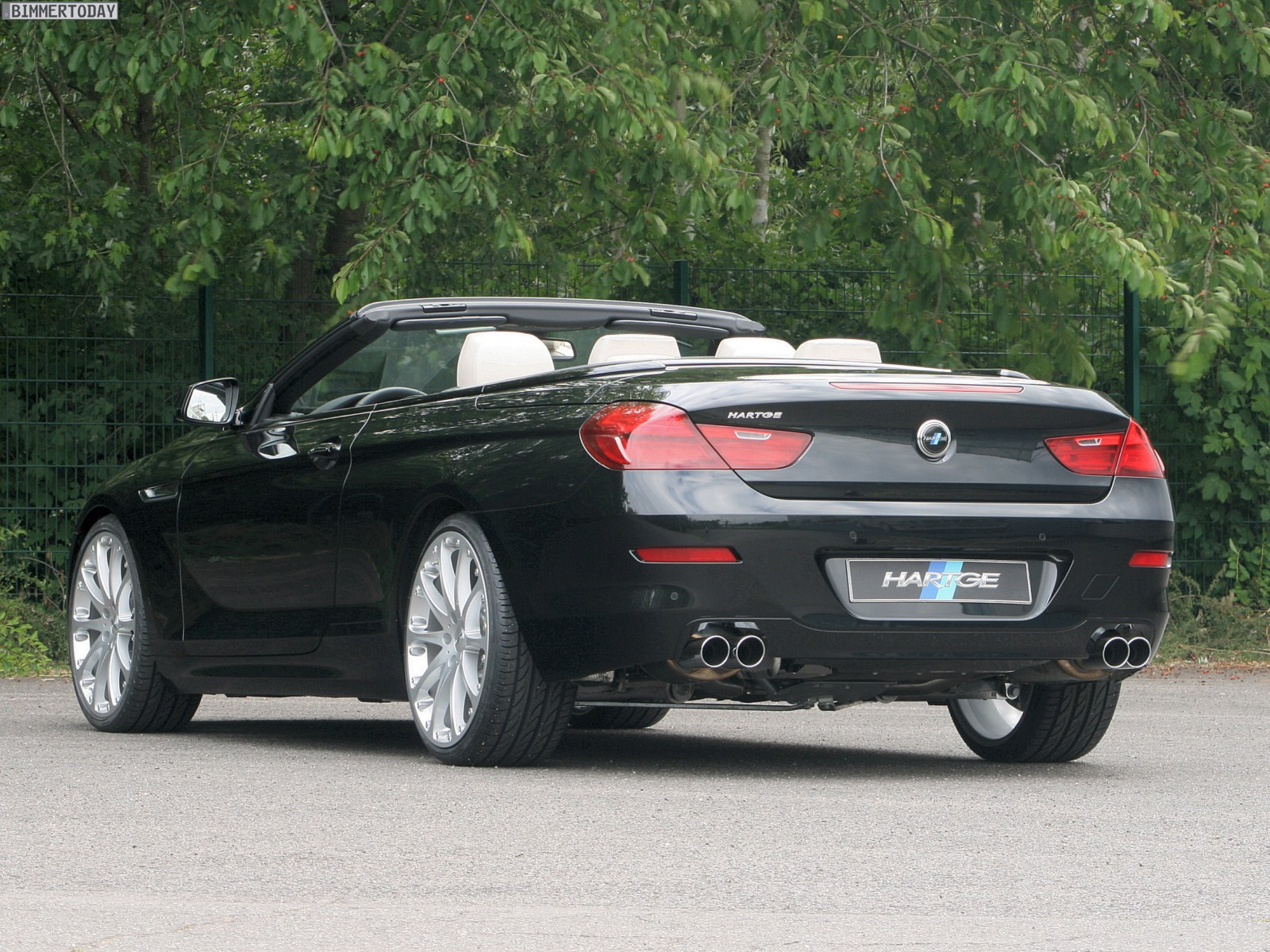 hartge stellt programm f r das bmw 6er cabrio f12 vor. Black Bedroom Furniture Sets. Home Design Ideas