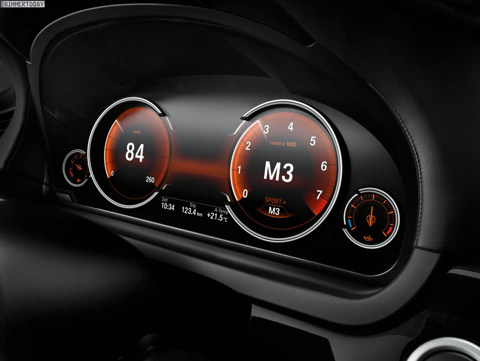 Bmw 7er Facelift Multifunktionales Instrumentendisplay