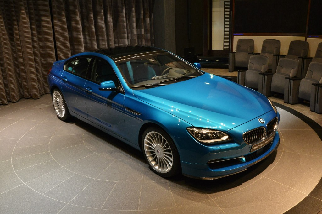 bmw alpina b6 gran coup in atlantis blue individual extrem. Black Bedroom Furniture Sets. Home Design Ideas