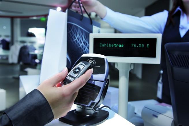 BMW-Autschluessel-NFC-Payment
