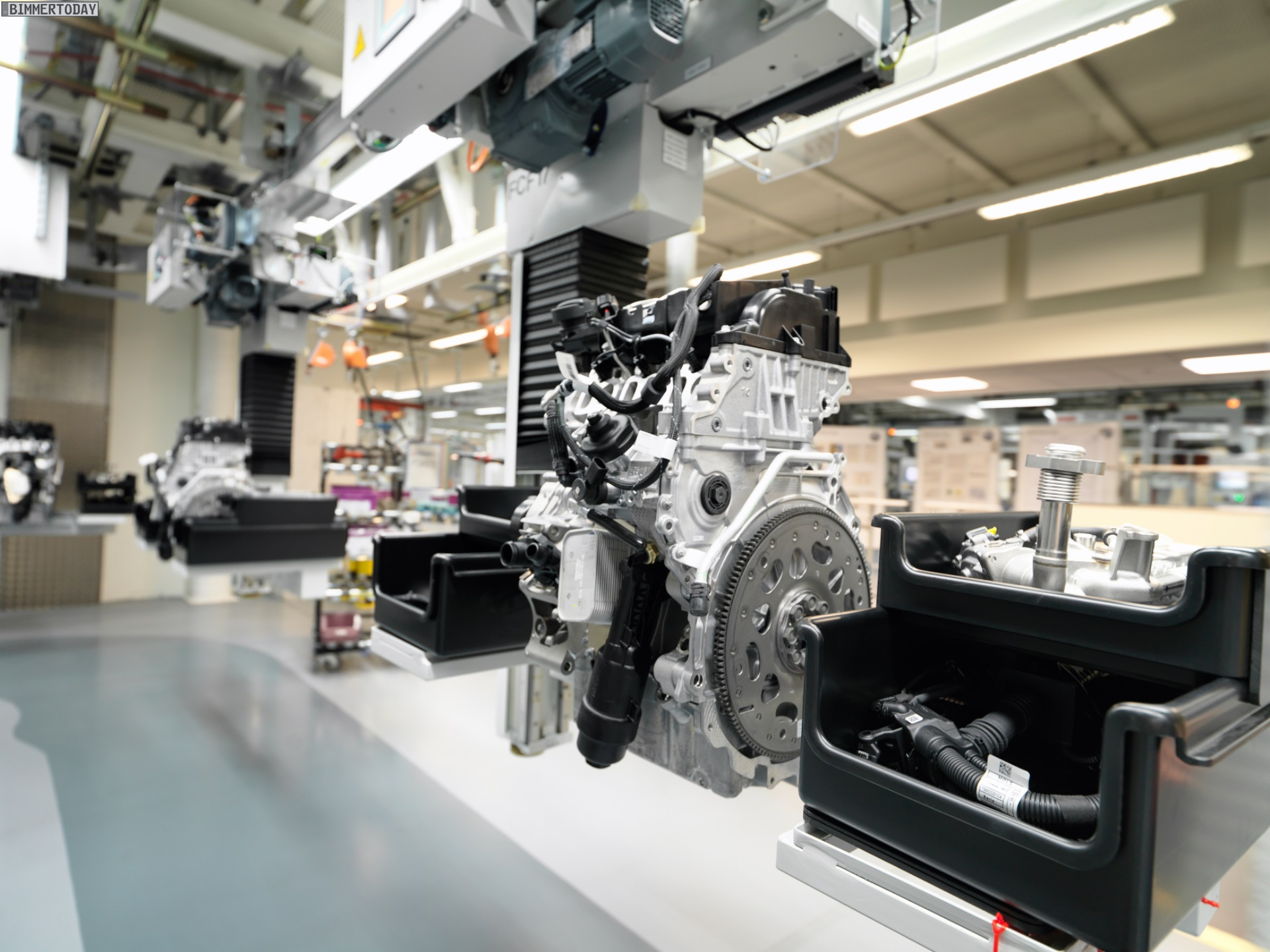 Bmw Motoren Werk Steyr Produktion Wieder Gestartet