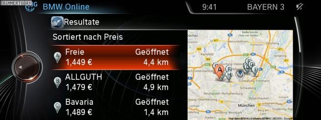 BMW-ConnectedDrive-2014-Tankstellen-Preise-Live-Spritpreise-Benzin-Diesel-1
