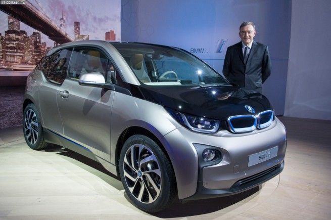 BMW i3 Premiere New York
