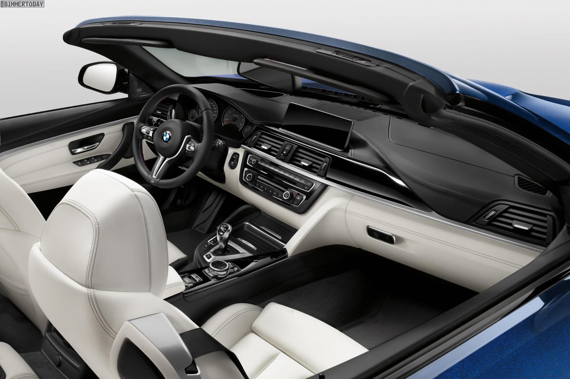 Bmw Individual Bmw M4 Cabrio In Tansanit Blau Mit Leder