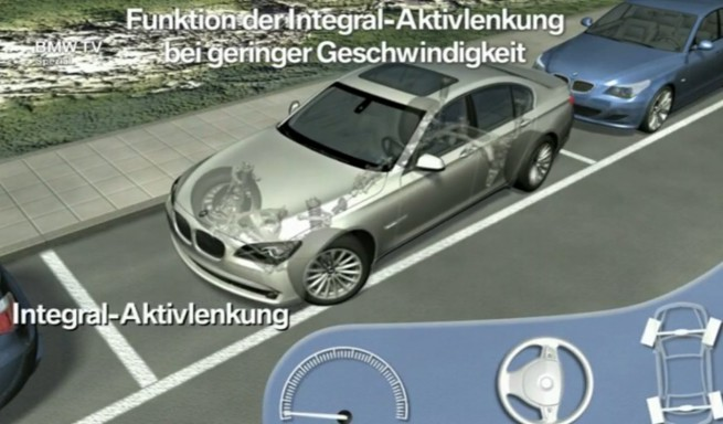 BMW-Integral-Aktivlenkung-Funktion