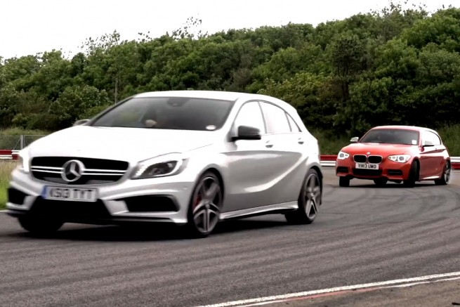 BMW-M135i-2013-Mercedes-A-45-AMG-Video-Vergleich-Chris-Harris