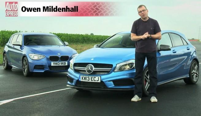 BMW-M135i-F20-Video-Vergleich-Mercedes-A-45-AMG-2013-AutoExpress