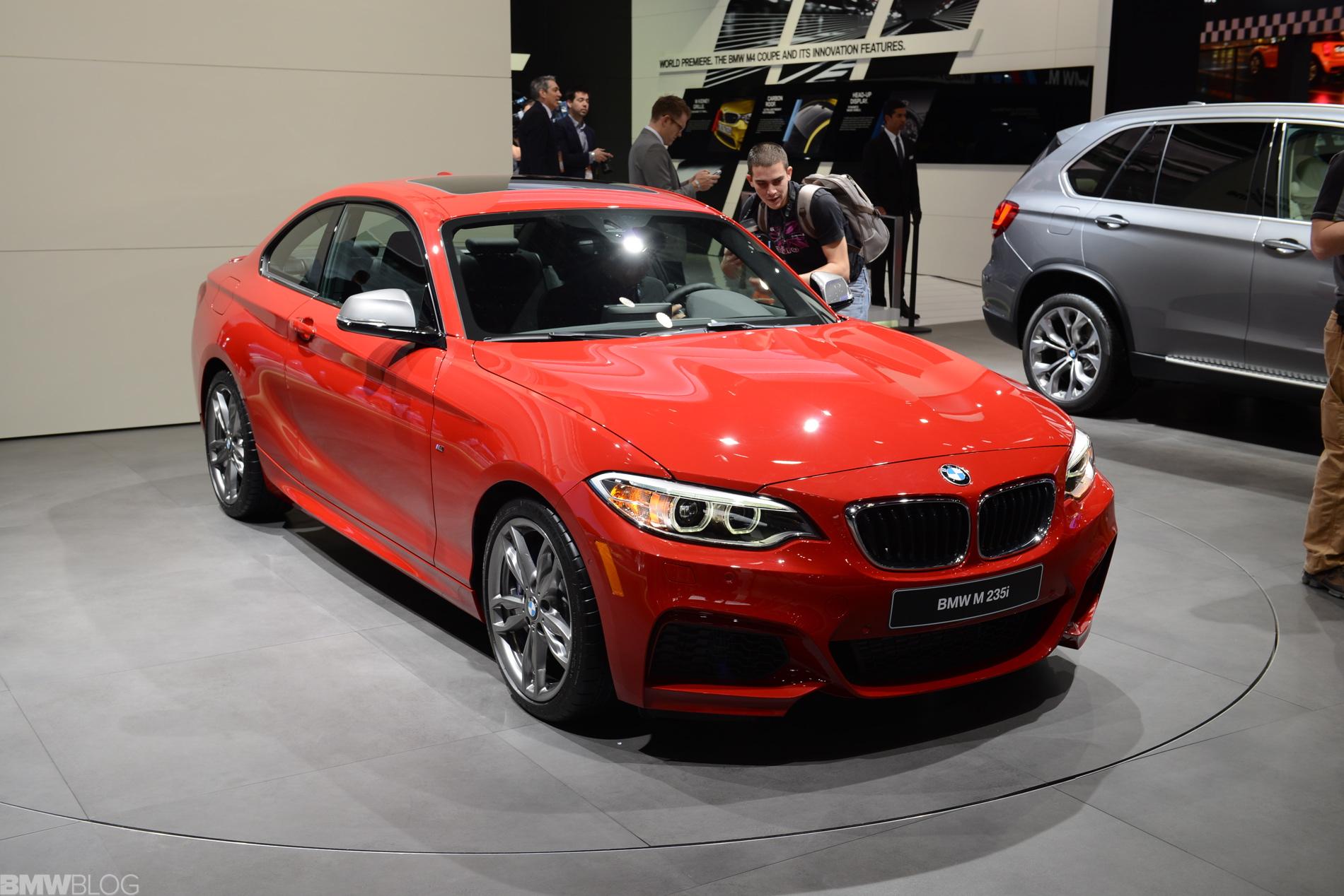 Detroit Auto Show 2014 Live Fotos Zum Bmw M235i In Melbourne Rot