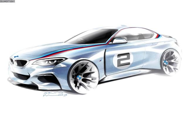 BMW-M235i-Racing-Design-Skizze-Rennwagen-Motorsport-Teaser