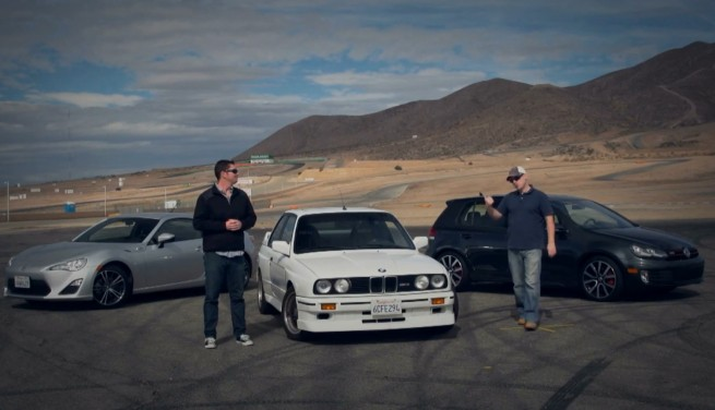 BMW-M3-E30-Video-Vergleich-Scion-FR-S-VW-Golf-GTI