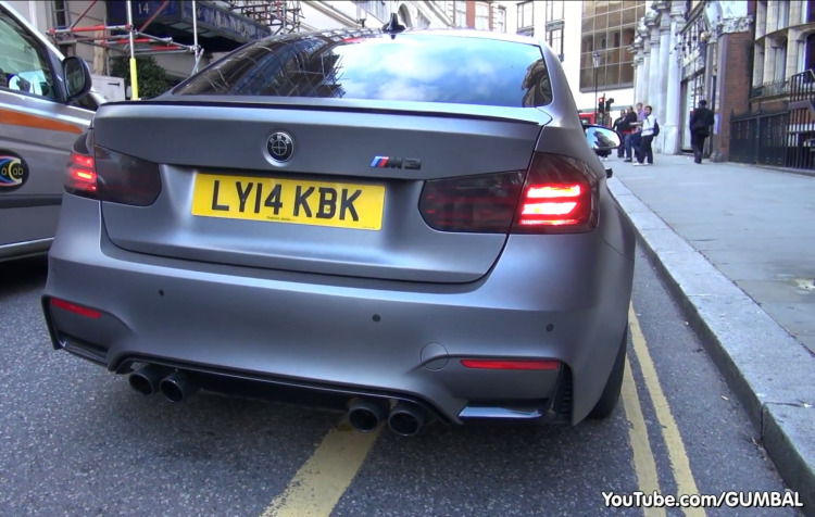 BMW-M3-F80-Frozen-Grey-Folierung-Grau-matt-London-Gumbal-Video-2