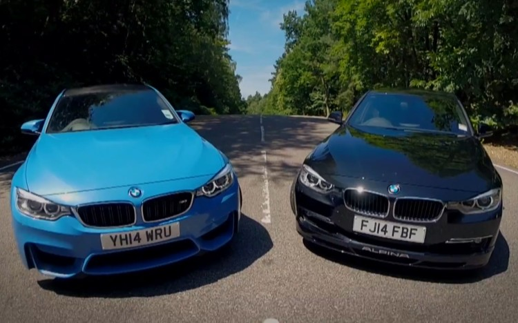 BMW-M3-F80-vs-Alpina-D3-Biturbo-F30-Video-Vergleich