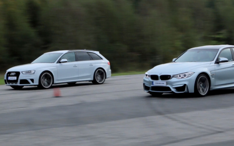 BMW-M3-F80-vs-Audi-RS4-2014-Video-Sprint-Duell