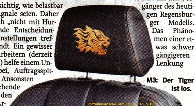 BMW-M3-Tiger-Edition-Kopfstuetze
