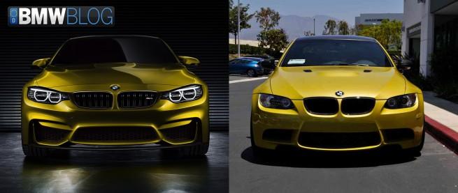 BMW-M4-F82-Concept-vs-M3-E92-1