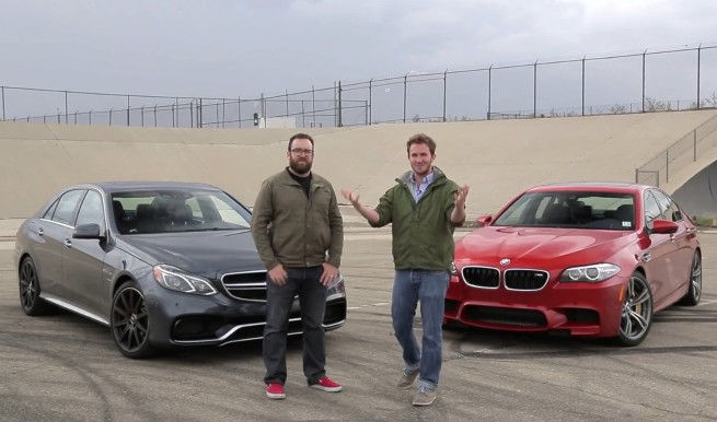 BMW-M5-F10-Competition-Paket-Video-Vergleich-Mercedes-E-63-AMG-S-Modell