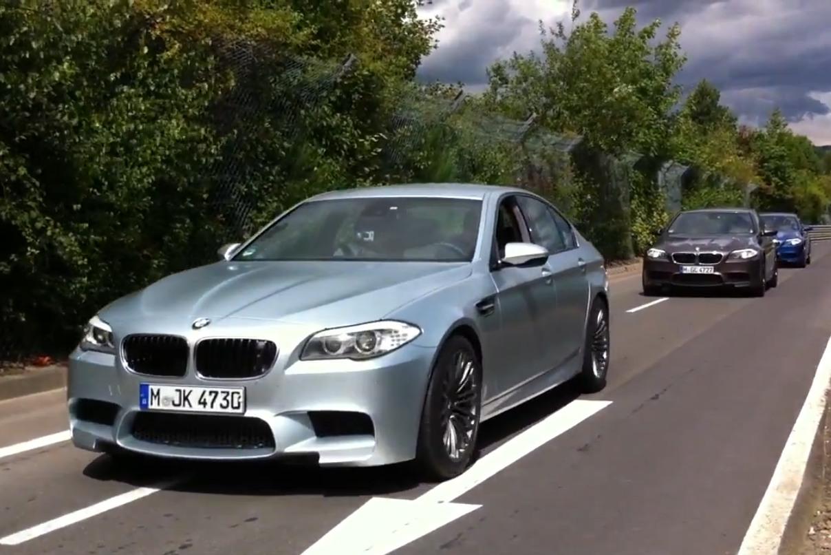 Teaser: Noch Vor Marktstart Mit Dem BMW M5 F10 über Die