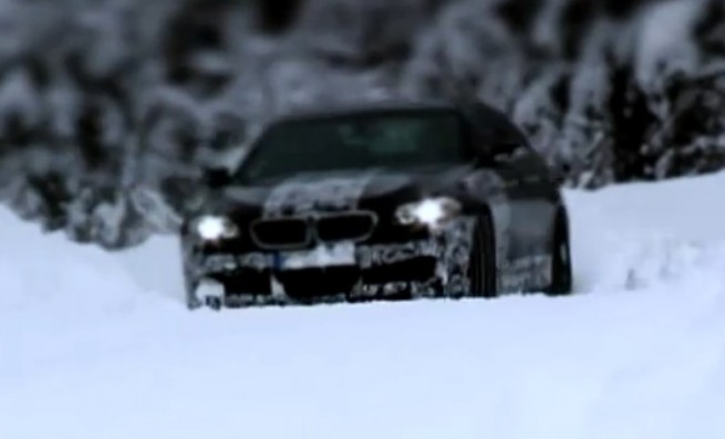BMW-M5-F10-Video-Winter-Testing