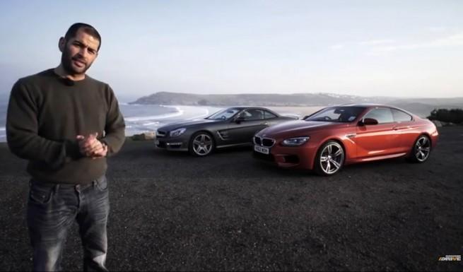 BMW-M6-F13-Video-Mercedes-SL-63-AMG-Vergleich-Chris-Harris-2013