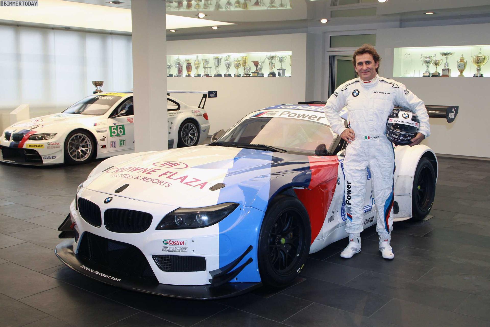 Comeback Alex Zanardi Greift 2014 Als Werksfahrer Im Bmw