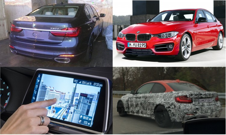 BMW-Neuheiten-2015-Highlights-7er-G11-3er-Facelift-M2-iDrive