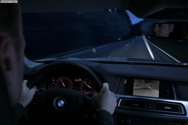 BMW-Night-Vision-Tier-Erkennung-Light-Spot-aktiv-anblinken-2013